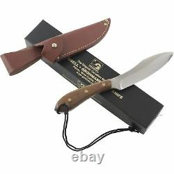 Grohmann Survival Rosewood Poignées Fixed Blade Knife 10.25 Full Tang Gaine