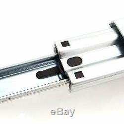 Heavy Duty Pleine Extension 100 KG Capacité De Charge Coulisse Rails Télescopiques