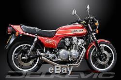 Honda Cb900f 1979-1983 Pleine 4-1 Échappement En Acier Inoxydable Classique Silencer Droite