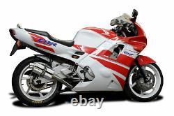 Honda Cbr600f2 / F3 Delkevic Full 4-1 Échappement 9 Silencieux En Acier Inoxydable 91-98