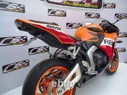 Honda Cbr600rr Full Exhaust Muffler Cs Racing Non-abs 2013-21