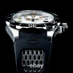 Invicta 47mm Homme Grand Diver Automatique Nh35a Full Lume Dial Black Strap Watch