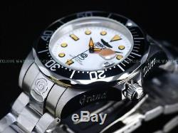Invicta Hommes 300m Grand-diver Lumineux DL Creamsicle Complet Nh35 Automatique Ss Montre