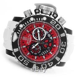 Invicta Jt Jason Taylor Sea Hunter III Rouge Blanc 70mm Pleine Horlogère Suisse Nouveau