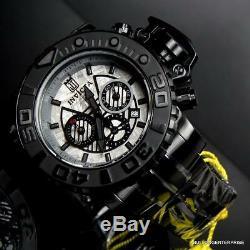 Invicta Sea Jt Hunter III Noir 70mm Full Size Météorite Swiss Watch Limited Nouvelle