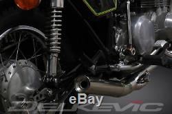 Kawasaki Z650 B-c 1976-1980 Pleine 4-1 Inoxydable D'échappement Classique Silencer Droite