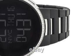 Marque Sur Mesure Nouveau Hommes I Gucci Numérique Blanc Plein Diamond Watch Ya114205 4.0 Ct