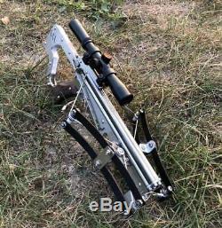 Mini Crossbow Tir Jouet V11 Pleine En Acier Inoxydable Joue Pour Le Jardin