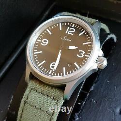 Mint Sinn 656 Pilots Tool Watch With Box Full Kit Et Eta 2824-2