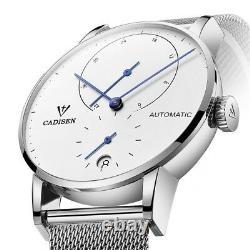 Montre Mécanique Automatique De Luxe Pour Hommes Swiss Auto Date Cadran Sapphire Full Steel