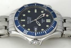 Montre Quartz Omega Seamaster Professional Blue Full Size 2541.80 (2002)