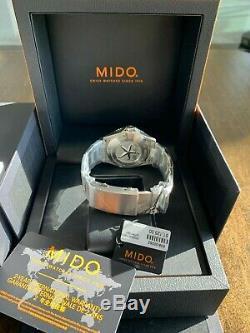 New Mido Ocean Star 200 M0264301104100 Montre Automatique Ensemble Complet Avec Garantie