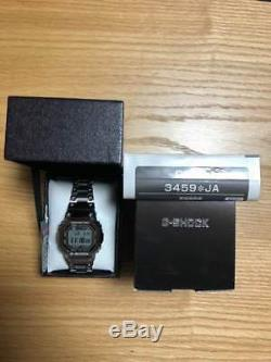 Nouveau 2018 Casio G-shock Gmw-b5000d-1jf Silver Full Metal Bluetooth Radio Solaire