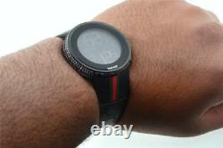 Nouveau Hommes Personnalisés Black Full I Gucci Numérique Ya114207 Blanc Diamond Watch 2 Ct