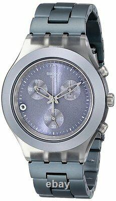 Nouvelle Swatch Hishony Chronographiographique Sangle Smoky Grey Date Svcm4007ag 160 $
