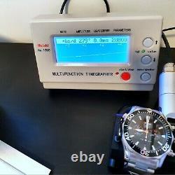 Omega Seamaster 300m Diver Chronographe Complet Set Complet Noir 2594.52 Expédition Intl
