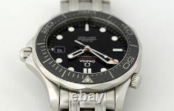 Omega Seamaster 300m Full Size Co-axial Automatic Watch Black Bezel 2014