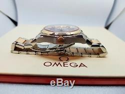 Omega Seamaster Aqua Terra 231.20.39.21.06.001 Or Rose 18 Carats Et Acier Ensemble Complet