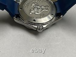 Omega Seamaster Pro 300m 2221.80 Pleine Taille 41mm Blue Dial Bond Quartz Mens Watch