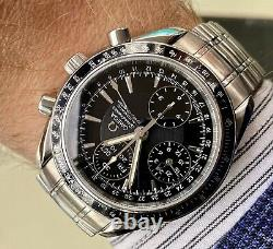 Omega Speedmaster Black Dial Men's Automatic Triple Date Watch Full Set Papers Omega Speedmaster Black Dial Men's Automatic Triple Date Watch Full Set Papers Omega Speedmaster Black Dial Men's Automatic Triple Date Watch Full Set Papers Omega Speed