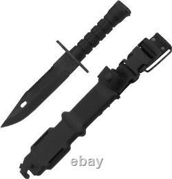 Ontario M9 Bayonet 12 1/8 Au Total. 7 420 Lame Inox Avec Une Lame Non Réfléchissante