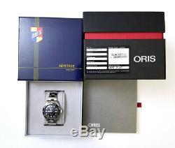 Oris Divers Soixante-cinq 42mm Montre Automatique Ref 01 733 7720 4054 Ensemble Complet Lnib