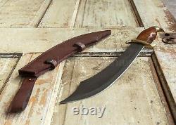 Pirate Sea Marauder Couteau Cutlass Épée Courte Sharp + Gaine En Cuir Solide