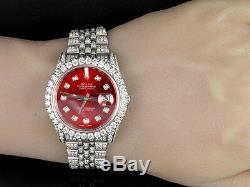 Plein Hommes 116200 Rolex Date De Seulement 36mm Jubilee Bracelet Diamond Watch 14,5 Ct
