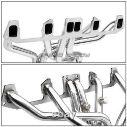 Pour 81-86 Jeep Cj-7 4.2l L6 T304 Acier Inoxydable 6-2-1 Full Length Header+y-pipe