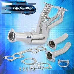 Pour 90-95 Nissan D21 Hardbody Pickup 2.4l 4wd En-tête De Course D'échappement En Acier Manifold