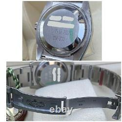 Rolex Air-king Oyster Perpetual 114200 Cadran Bleu Bnib Full Stickers