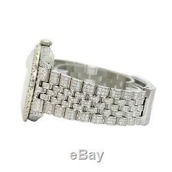 Rolex Datejust Blanc Mop Diamant Romaine Le Cadran Diamond Watch 36mm