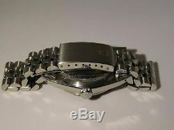 Rolex Datejust En Acier Inoxydable Avec Cadran Rare, Full Set, 16030, 1984