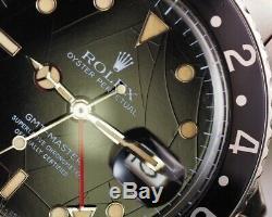 Rolex Gmt Master II 16750 Araignée Dial 1985 Ensemble Complet Collectionneurs De Rêve