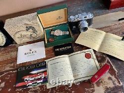 Rolex Oyster Ref 1007 Perpetual 1973 Mens A Utilisé La Montre Vintage Full Set Papers Box