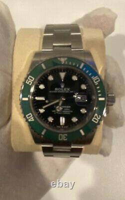 Rolex Submariner 126610lv Kermit Brand New Kit Complet