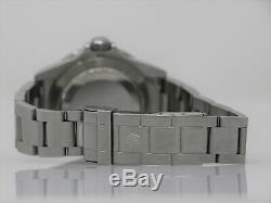 Rolex Submariner 16610lv Automatique En Acier Inoxydable De 40 MM De Série Aléatoire Set Complet