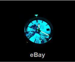 San Martin Bronze 62mas Voir La Vidéo Complète Lum Kanagawa Ocean Wave Dial Montres 20atm