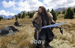 Seigneur Des Anneaux Hobbit Orcrist Thorin Oakenshield Inox Sword Cosplay #3843