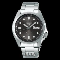 Seiko 5 Sports 40mm Full Stainless Steel Lumibrite Automatic Watch Srpe51k1