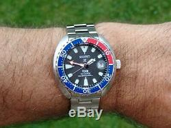 Seiko Padi Bébé Tortue Special Edition Srpc41k1 200m Divers Watch. Ensemble Complet