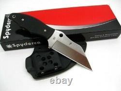 Spyderco Fb09gp2 Ronin 2 Fixe Lame De Couteau Plain Edge Cts-bd1 G10 Poignée + Gaine