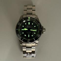 Squale 1545 Original 20 Atm Swiss Made Dive Watch Avec Lunette En Céramique Kit Complet