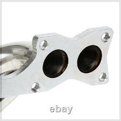 Ss Full Length Exhaust Header Manifold Pour 90-95 Nissan D21/pickup 2.4 Ka24e 4wd