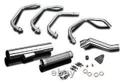 Suzuki Gs1100g Delkevic Plein 4-1 Stainless Steel Exhaust Cafe Race Muffler 82-84