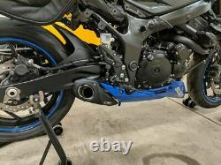 Suzuki Gsx-s750 Cs Racing Silencieux D'échappement Complet + Db Killer Vérifiez La Vidéo Ci-dessous