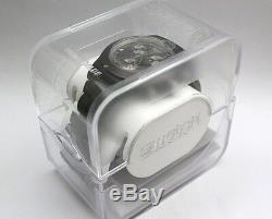 Swatch Irony Chronographe Full Blooded Smoky Brown Date Montre Svcc4000ag