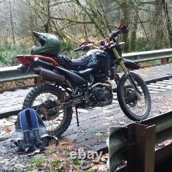 Système Silencieux D'échappement Complet Glisser Sur Pour Crf150f Crf230f 2003-2013 2012 Dirt Bike