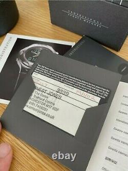Tag Heuer Série 2000 Automatique Wk2117-0 Mens Watch Pleine Grandeur Boîte / Papier Rare