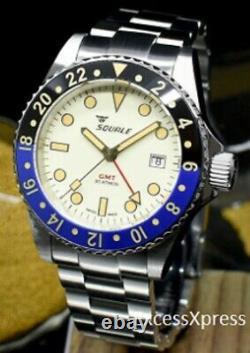 Tout Nouveau Squale 1545 30 Atmos Maio Gmt Ceramica Watch Full Set Under Warranty